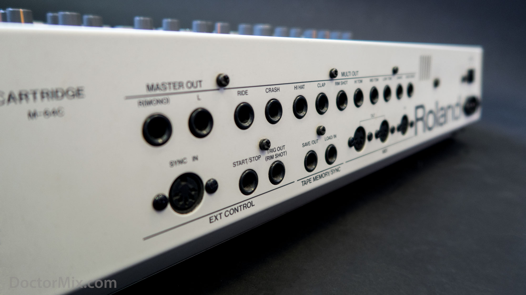 The Roland TR-909 Rhythm Composer.